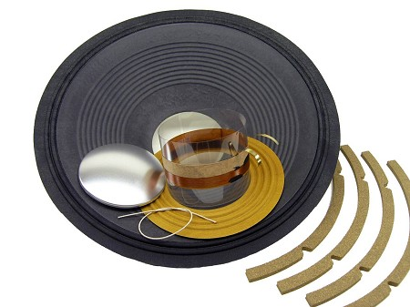 "SS Audio Recone Kit for 15"" JBL D140, E140, K140, 8 Ohms, RK-JBLE140-8"