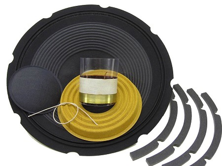 "SS Audio Recone Kit for 12"" JBL M112-8, 8 Ohms, RK-JBLM112-8"
