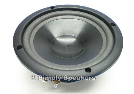 "Infinity 6-1/2"" Woofer, IMG Cone, 4 Ohm, 902-4338, Sold Out!"